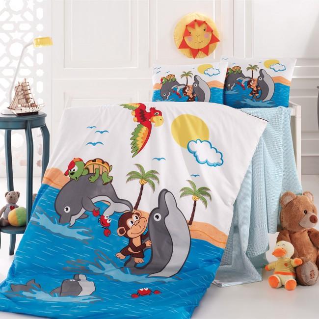 Спален комплект за кошара Делфини