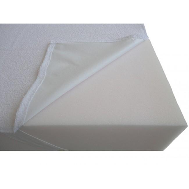 Гумиран непромокаем протектор за матрак с 4 ъглови ластика