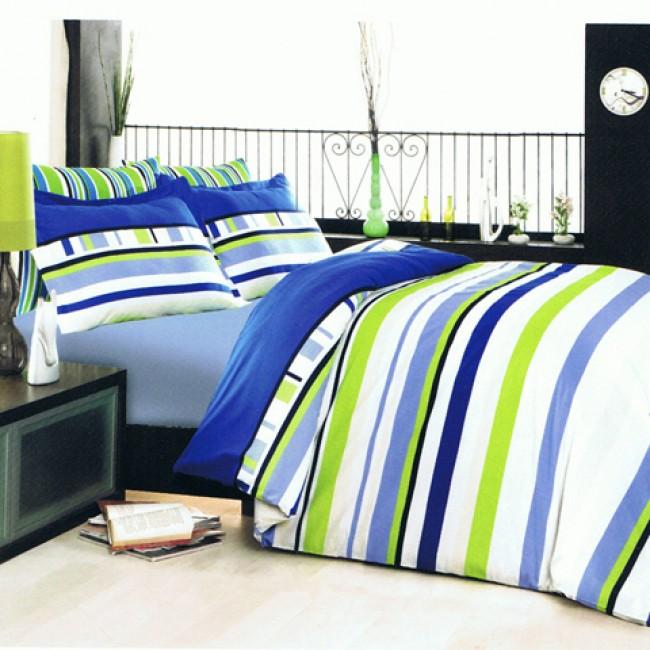 Спален комплект Класико син