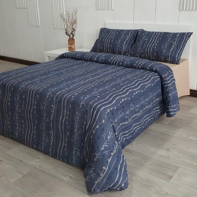 Спален комплект Айви син
