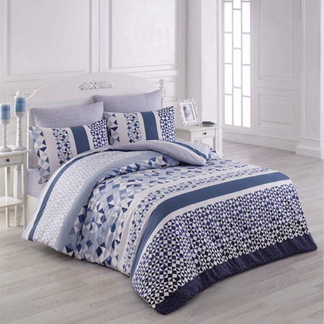 Спален комплект Лавива син