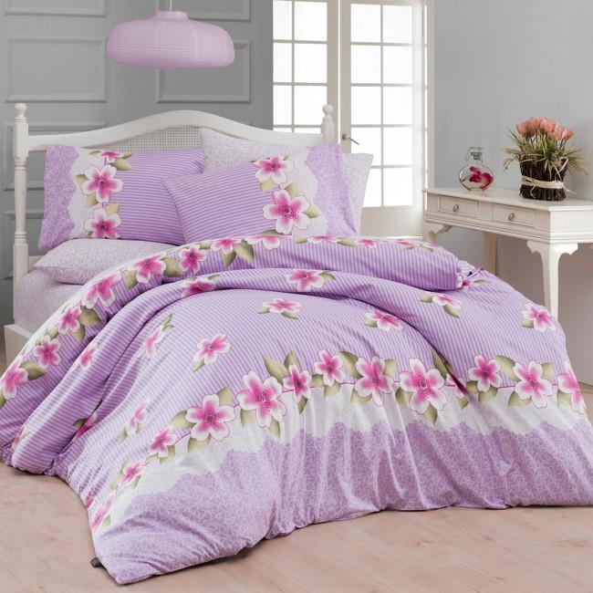 Спален комплект Лива лилав