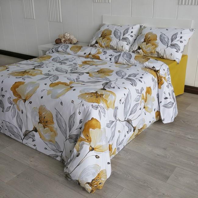 Спален комплект Магнолия горчица