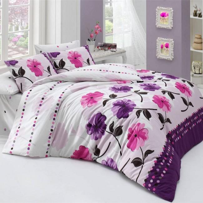 Спален комплект Винс лилав