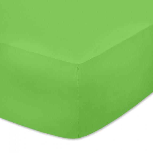 Чаршаф с ластик от памучно трико Пастелно зелен